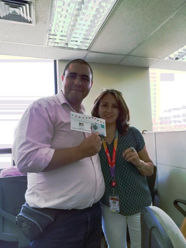 Cumpleaños en back office de Scotiabank Chile